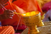 Buddhist Wedding Ceremonies - www.weddingsinthailand.com / Faraway Weddings also offers a traditional Buddhist ceremony for those who have an attraction to the rituals of Buddhism, or simply want to experience a little of the local culture and traditions of Thailand.