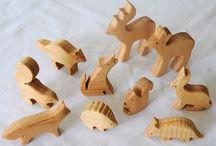 Wood children toys