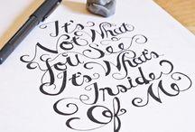 SCRIPT TEXT  / by Lila Leon