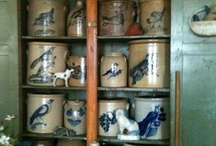 Crocks and other pottery