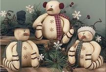 Wintertijd~~ Sneeuwmannen~~