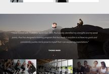 fit gym web pages