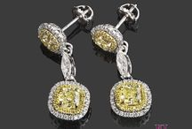 Diamond Earrings / Our diamond earrings will be a perfect gift and will serve as a fashion statement. Visit www.usjewelryfactory.com for our full selection of diamond earrings.