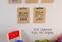 Clipboard Wall Decor / by Claudia H