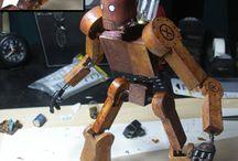 robot madera