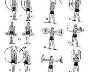 Комплексы упражнений с гантелями