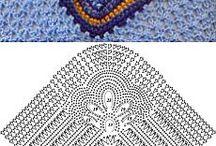 cuello crochets.