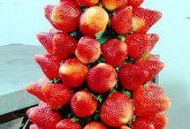 fresas arbol