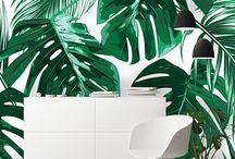 tropical wall