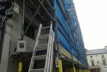Scaffolding Alarm Installation 'Oct 2014 / Our recent scaffolding alarm install