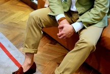 Style / Men's who pull off smart casual oh so effortlessly.