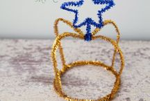 Pipe Cleaner and Pom Poms