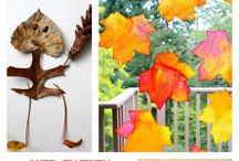 Autumn Art Lessons for Kids / by KinderArt.com