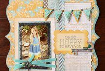 Scrapbooking Layout & Sketch