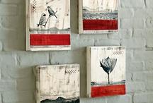 art inspiration - small canvasses