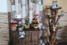 Mini Party Bosque Encantado / Decoração por Bella Decorações e Artes