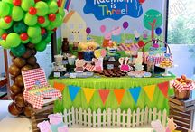 Peppa birthday party