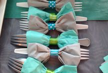 Party ideas / Bow Tie servetre