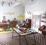 ava&yves - Atelier / Ein Blick in den Ausstellungsraum von ava&yves.