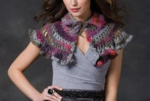 Outlander Knitwear/Crochet wear / Shawls, wraps, hats, mitts that Claire wears in Outlander. Either knitted or crocheted.
