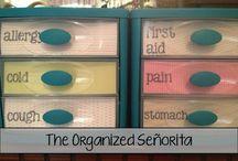 Organize Me Please / by Debbie Dunham