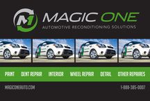 """Magic One Auto / Your """"1"""" Source for Complete Automotive Reconditioning Solutions"""