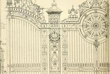 кованные двери чертежи
