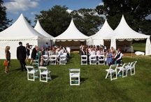 Chinese Hats / One of many marquee styles at Oakleaf Marquees - Great for entrance marquees, chill outs or bar areas