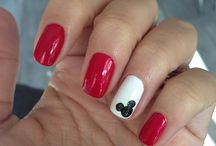 mickey mouse / nails,sett and hair