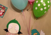 Sarah and Duck party