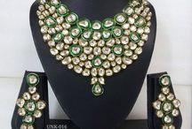 Kundan meena / Royal ethinic jaipuri kundan meena jewellery
