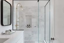 White bathrooms