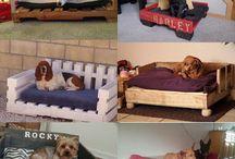 pallets  dog bed