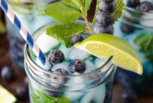Berry Blue / Stuff to make with Blueberries