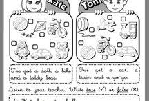 English materials I-III classes