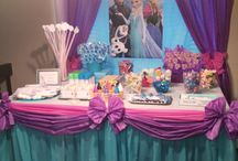 elsa birthday party