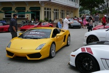 Car Show, Celebration, FL (4/14/2012) / This yearly event in Celebration, Florida (right outside of Orlando and close to Disney World and all the attractions), is a must-attend event if you love exotic cars. You will also see new exotics as well as some classics, but the show is dominated by Ferraris of all years. Great food and many coffee shops and stores to visit along the same venue. Always some movie cars and more. Arrive early to get a good parking spot.