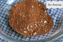 #Recipes Odds and Ends / Seasonings, appetizers, sides and more