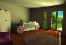 babyroom furniture and babyroom design / modern design babyrooms and baby cribs, nursery cradle and cribs model (convertible baby cribs and cradle)