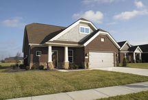 Teak Craftsman C - Floor Plan / Jagoe Homes, Inc. Project: Paradise Garden Estates, Teak Craftsman, Elevation: Craftsman-C2, Evansville, IN. Site Number: PGE 1.