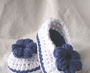 Easy crocheted baby things