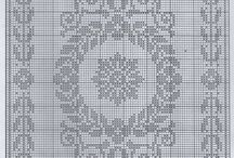 cross stitch one colour