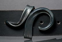 Leather belts and buckles. / Design inspiration for leather belt work and cool buckles to compliment.