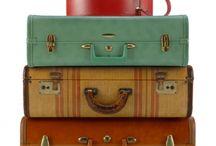Vintage suitcase / decor