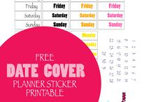 Free Planner Sticker Printables / Printable stickers for decorating your planner