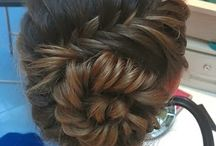 hairstyles for grad :)