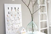 Inspirations déco Noël / Mes inspirations pour réaliser la déco de Noël cette année