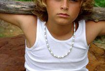 Boy hair curly