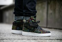 "Nike Air Force 1 Hi ""BHM"" QS (836227-001)"