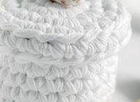 Crochet living accessoires